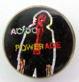 AC/DC - 'Powerage' Prismatic Crystal Badge
